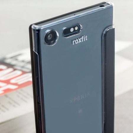 100% authentic 5453a e0fab Roxfit Sony Xperia XZ Premium Pro Touch Book Case - Black / Clear
