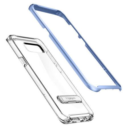 Spigen Crystal Hybrid Samsung Galaxy S8 Plus Case - Blue Coral