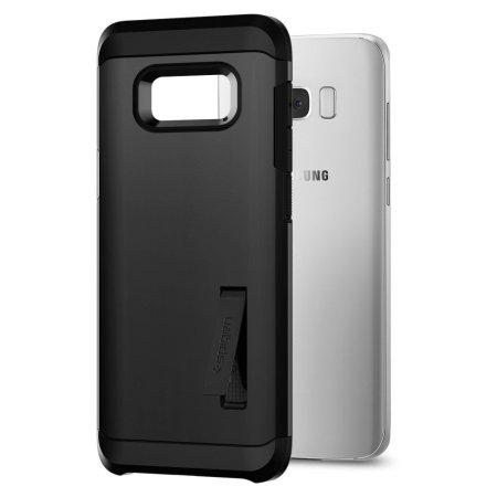 info for 6e14c ee6a6 Spigen Tough Armor Samsung Galaxy S8 Plus Case - Black