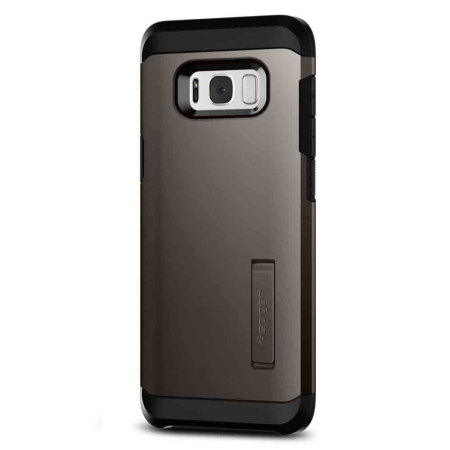 hot sale online 8d29c 27546 Spigen Tough Armor Samsung Galaxy S8 Plus Case - Gunmetal