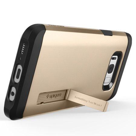 super popular f326e ae97d Spigen Tough Armor Samsung Galaxy S8 Plus Case - Champagne Gold