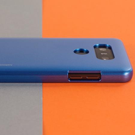 Mercury Goospery iJelly LG G6 Gel Case - Blue