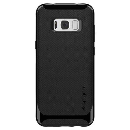spigen neo hybrid samsung galaxy s8 plus case shiny black