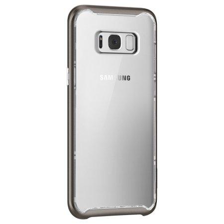 reputable site fc9f6 5f2d1 Spigen Neo Hybrid Crystal Samsung Galaxy S8 Plus Case - Gunmetal