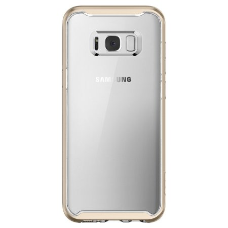 Spigen Neo Hybrid Crystal Samsung Galaxy S8 Plus Case - Gold Maple