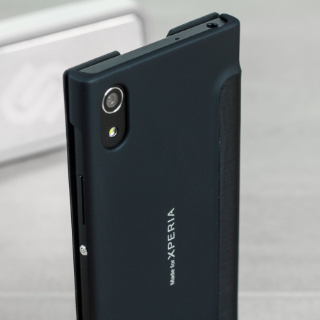 roxfit urban book sony xperia xa1 slim case black