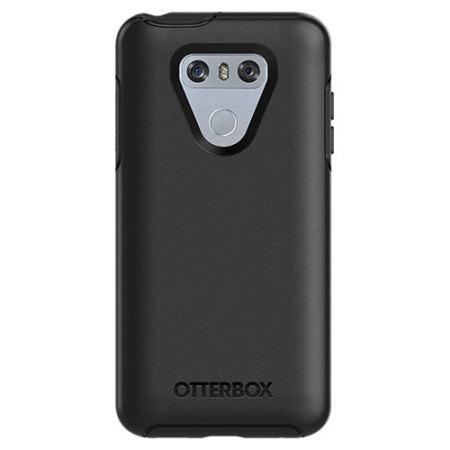 lg phone black. otterbox symmetry lg g6 case - black lg phone