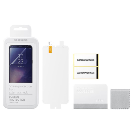official samsung galaxy s8 screen protector twin pack can improve