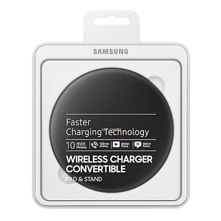 Official Samsung Galaxy Convertible Wireless 9W Fast Charger - Black
