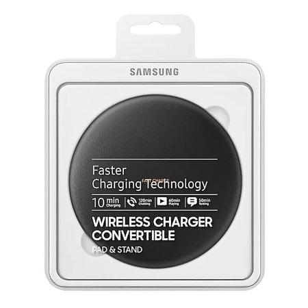 Chargeur sans fil rapide Officiel Samsung Galaxy Convertible – Noir