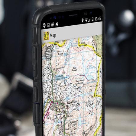 Olixar ArmourDillo Samsung Galaxy S8 Protective Case - Zwart