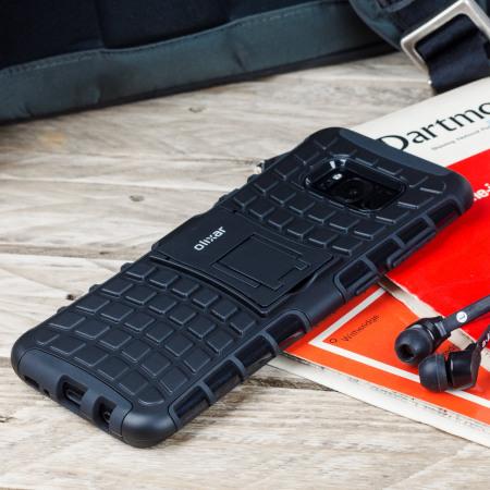 Olixar ArmourDillo Samsung Galaxy S8 Plus Protective Case - Black