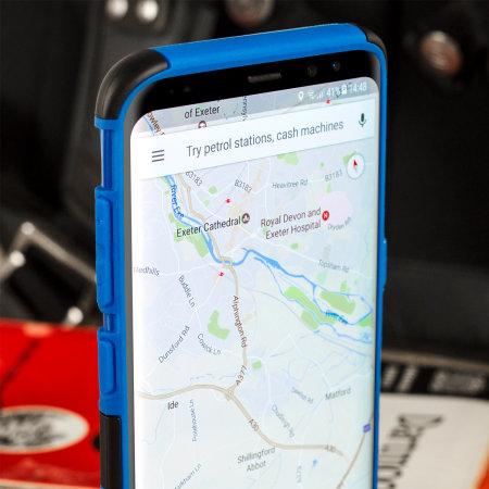 Olixar ArmourDillo Samsung Galaxy S8 Plus Protective Case - Blue