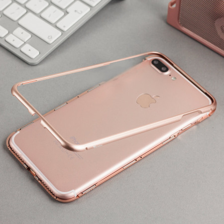 Torrii MagLoop iPhone 7 Plus Magnetic Bumper Case - Rose Gold