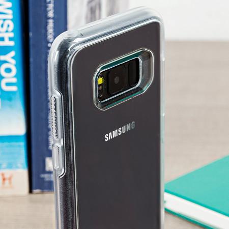 pretty nice d39b8 2ef5d OtterBox Symmetry Clear Samsung Galaxy S8 Case - Clear