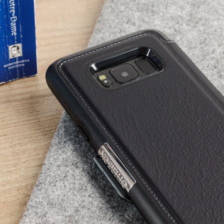 quality design ce097 1b113 OtterBox Strada Samsung Galaxy S8 Case - Black