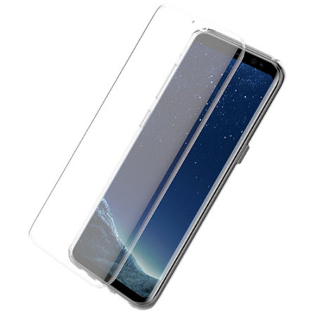 otterbox alpha glass screen protector for samsung galaxy s8 installation