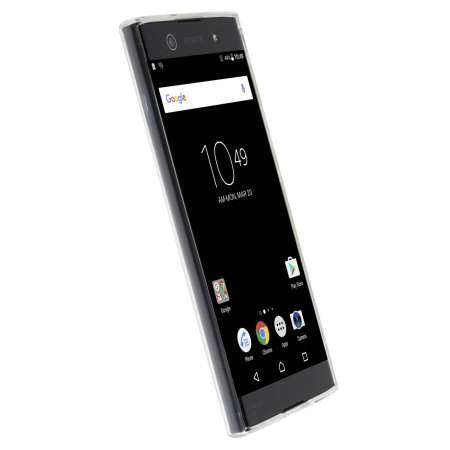 coque sony xperia xa1 ultra krusell bovik 100 transparente. Black Bedroom Furniture Sets. Home Design Ideas