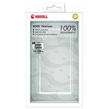 Krusell Bovik Sony Xperia XA1 Ultra Shell Case - 100% Clear