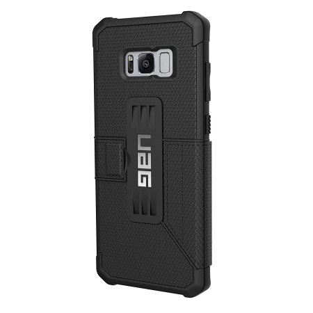 UAG Metropolis Rugged Samsung Galaxy S8 Wallet Case - Black