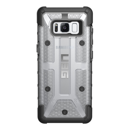 uag plasma samsung galaxy s8 plus protective case ice black 6