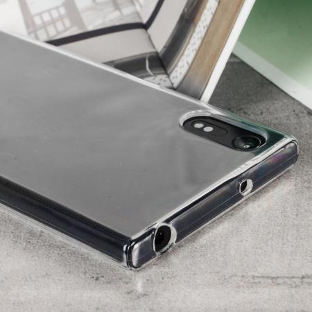Olixar FlexiShield Sony Xperia XZs Gel Case - 100% Clear