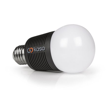 Veho Kasa Smart LED Bluetooth App-Controlled E27 Light Bulb