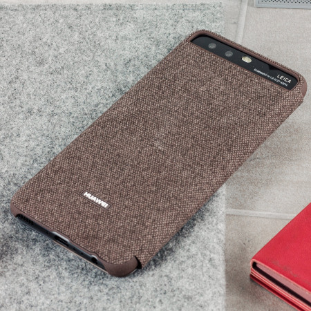 Official Huawei P10 Smart View Flip Case - Brown
