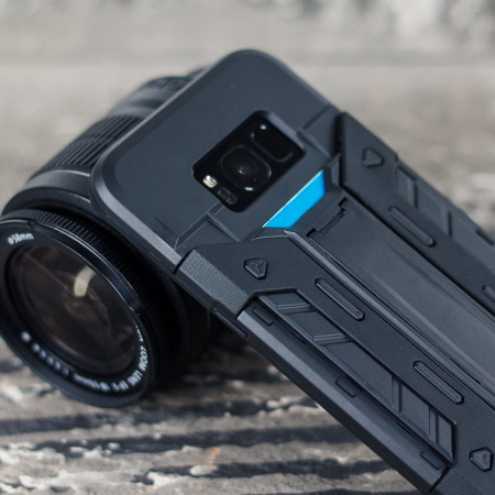 Samsung Galaxy S8 Plus Tough Case - Olixar XTrex with Kickstand