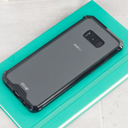Funda Samsung Galaxy S8 Plus Olixar ExoShield Gel - Negra
