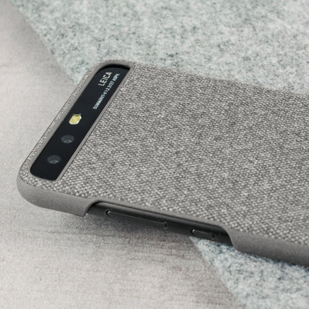 Official Huawei P10 Protective Fabric Skal - Ljusgrå