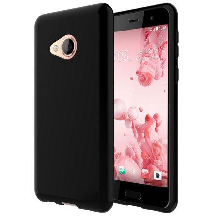 Olixar FlexiShield HTC U Play Gel Case - Solid Black