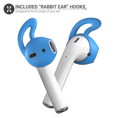 Apple AirPods Ear Hooks Soft Silicone Covers - Olixar - 5 Pack