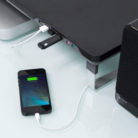 Satechi F3 Smart Laptop & Monitor Stand w/ 4x USB Ports - Black