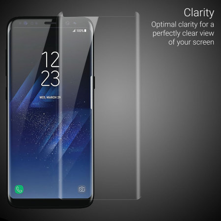 have olixar samsung galaxy s8 case compatible glass screen protector fact, many