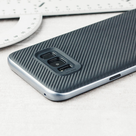 olixar x duo samsung galaxy s8 case carbon fibre metallic grey reviews