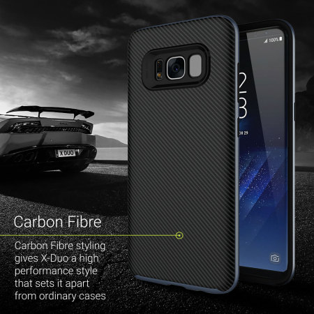 olixar x duo samsung galaxy s8 case carbon fibre metallic grey reviews you would