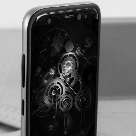 Olixar X-Duo Samsung Galaxy S8 Plus Case - Koolstofvezel Zilver