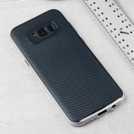 phone olixar x duo samsung galaxy s8 plus case carbon fibre gold blade features