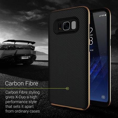 coque samsung s8 plus carbone