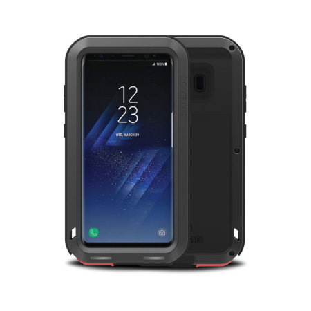 Love Mei Powerful Samsung Galaxy S8 Protective Skal - Svart