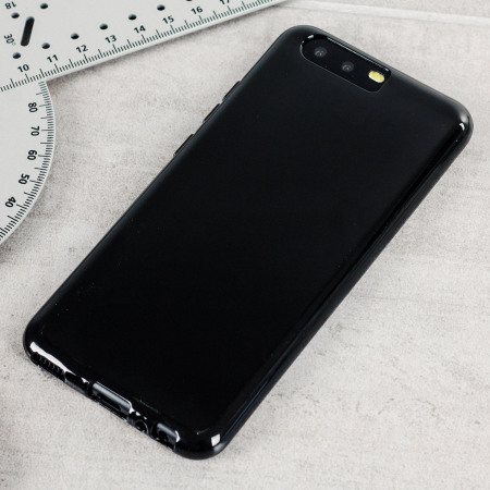 Olixar FlexiShield Huawei P10 Plus Gel Case - Solid Black