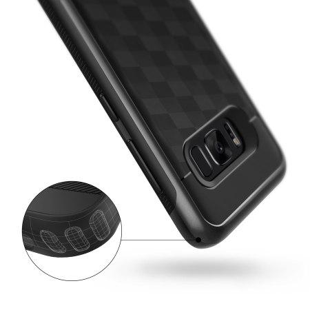 Caseology Parallax Series Samsung Galaxy S8 Case - Black