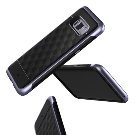 Caseology Parallax Series Samsung Galaxy S8 Plus Case - Black