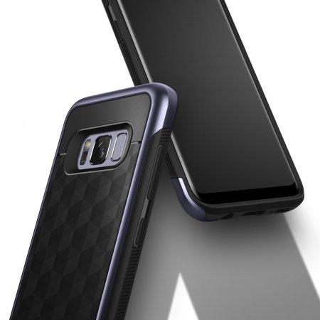 Caseology Parallax Series Samsung Galaxy S8 Plus Hülle Schwarz