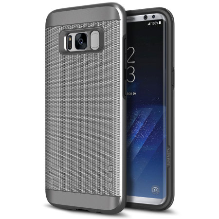 samsung galaxy s8 plus case silver