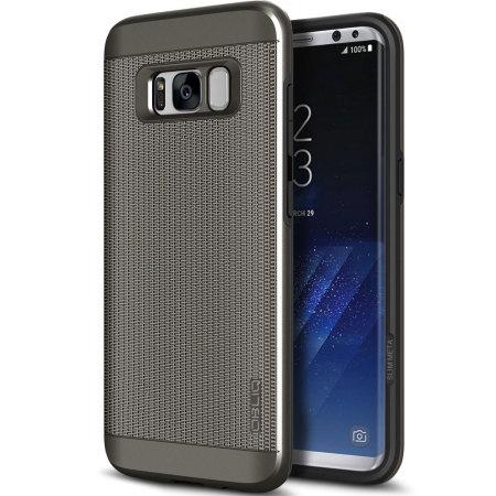 Obliq Slim Meta Chain Samsung Galaxy S8 Plus Case - Gunmetal