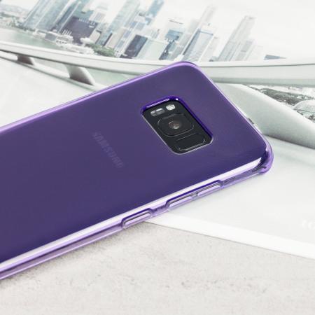 Olixar FlexiShield Case Samsung Galaxy S8 Plus Hülle in lila