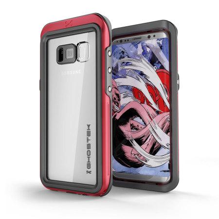 new arrivals 2fafd 57bae Ghostek Atomic 3.0 Samsung Galaxy S8 Plus Waterproof Case - Red