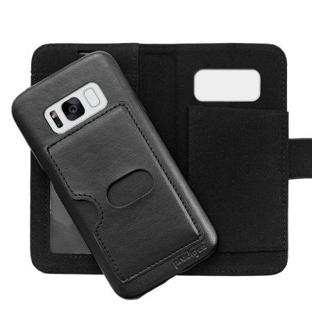 only prodigee wallegee samsung galaxy s8 plus wallet hard case black 1 authorized retailer